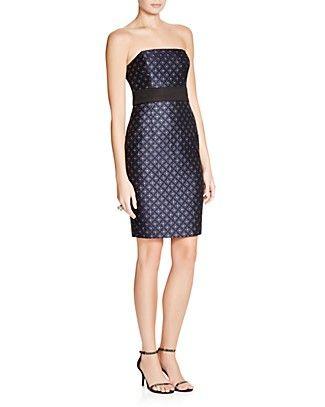 Tracy Reese Nadia Strapless Sheath Dress | Bloomingdale's