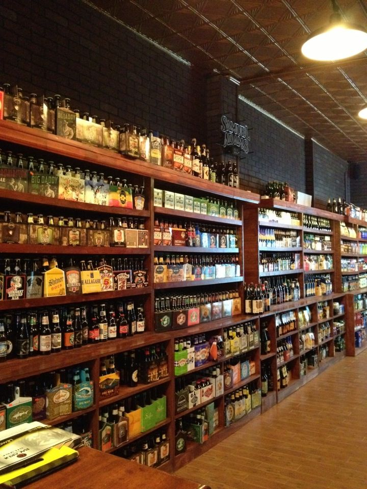 Beer store in West Village