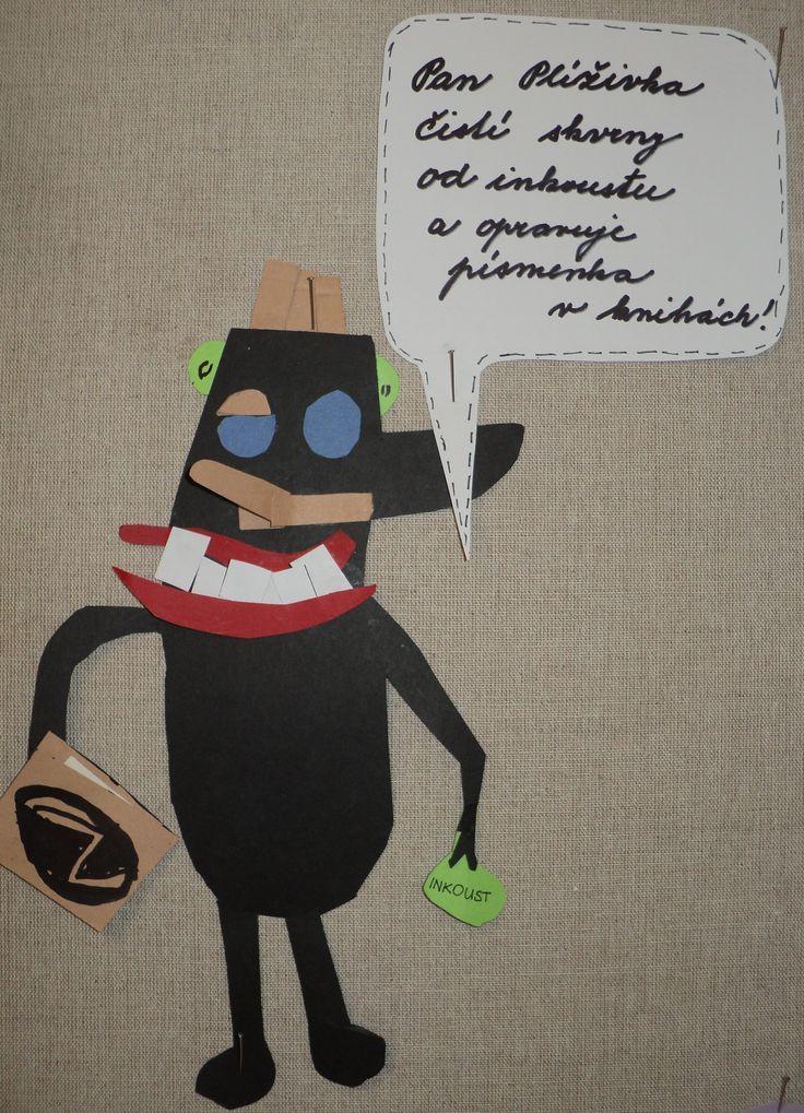 Knihožrout - Plíživka (1. třída)