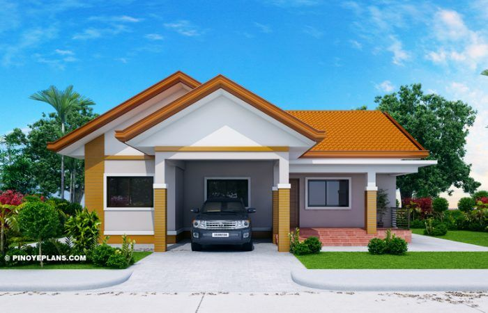 Agustin Spacious Three Bedroom Elevated House Concept Pinoy Eplans Modern Exterior House Designs Bungalow House Design Small House Design Plans