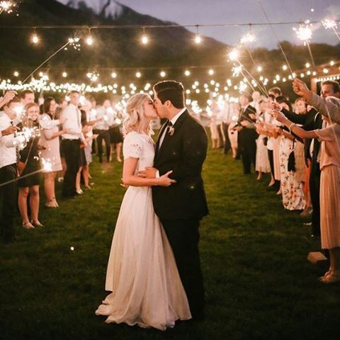 SPARKLE offers the best quality wedding sparklers