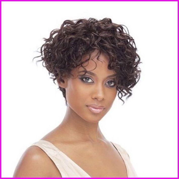 ▷ 26 + Ideen für Kurzhaarfrisuren für lockiges Haar ...