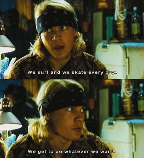 Every skater worships these people! Emile Hirsch as Jay Adams #skater logic
