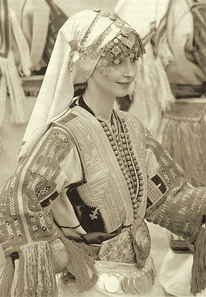 Macedonian folk dress.