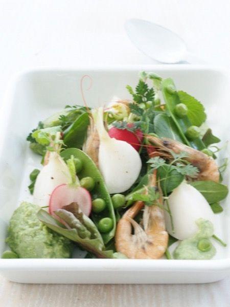 グリーンピースのペーストで頂くグリーンサラダ by 盛りつけ師★もりた ...