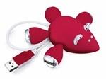 Multipla USB Topolino Rosso
