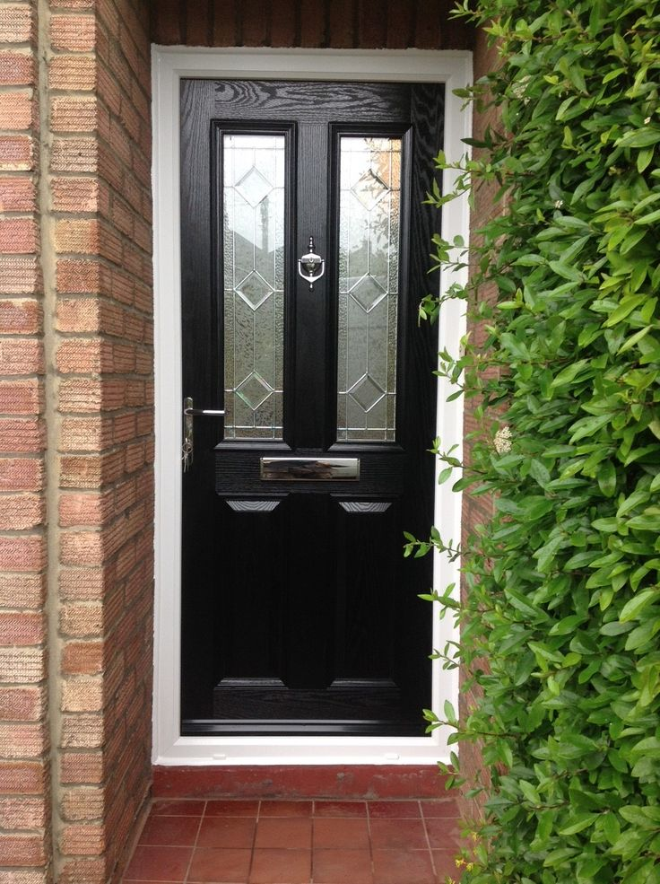 black composite doors from Value Doors! & 86 best Black Front Door images on Pinterest | Black front doors ... Pezcame.Com