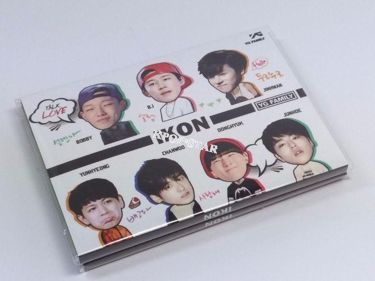iKon i Kon  Portable Photo Memo Pad KPOP Korean K Pop Star