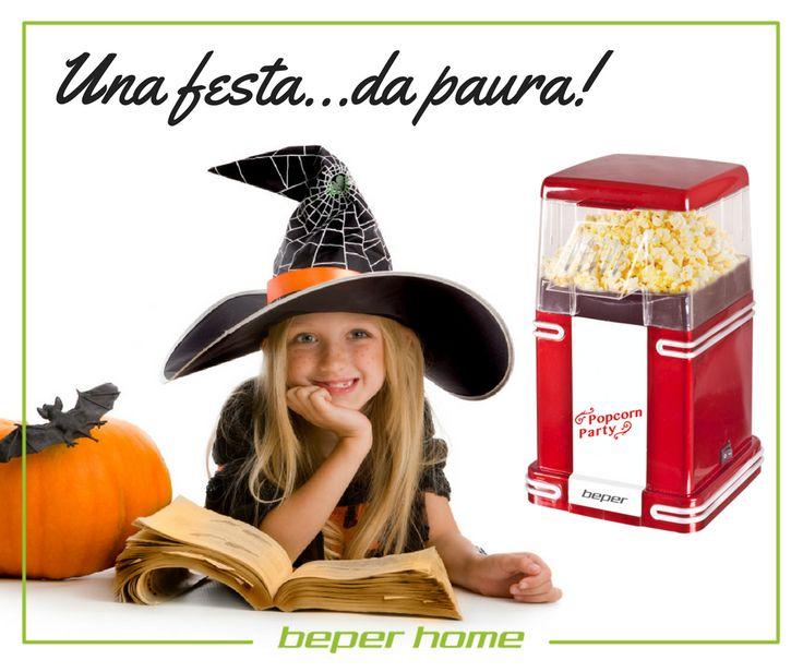 Halloween è alle porte. Come puoi rendere la tua festa magica ed indimenticabile? Con la MACCHINA per POPCORN BEPER, che prepara croccanti e sfiziosi popcorn in soli 3 minuti, fai felici grandi e piccini! Maggiori info http://www.beper.com/…/cuc…/beper-party/macchina-per-popcorn @beperhome #beperparty #popcornmaker #halloween