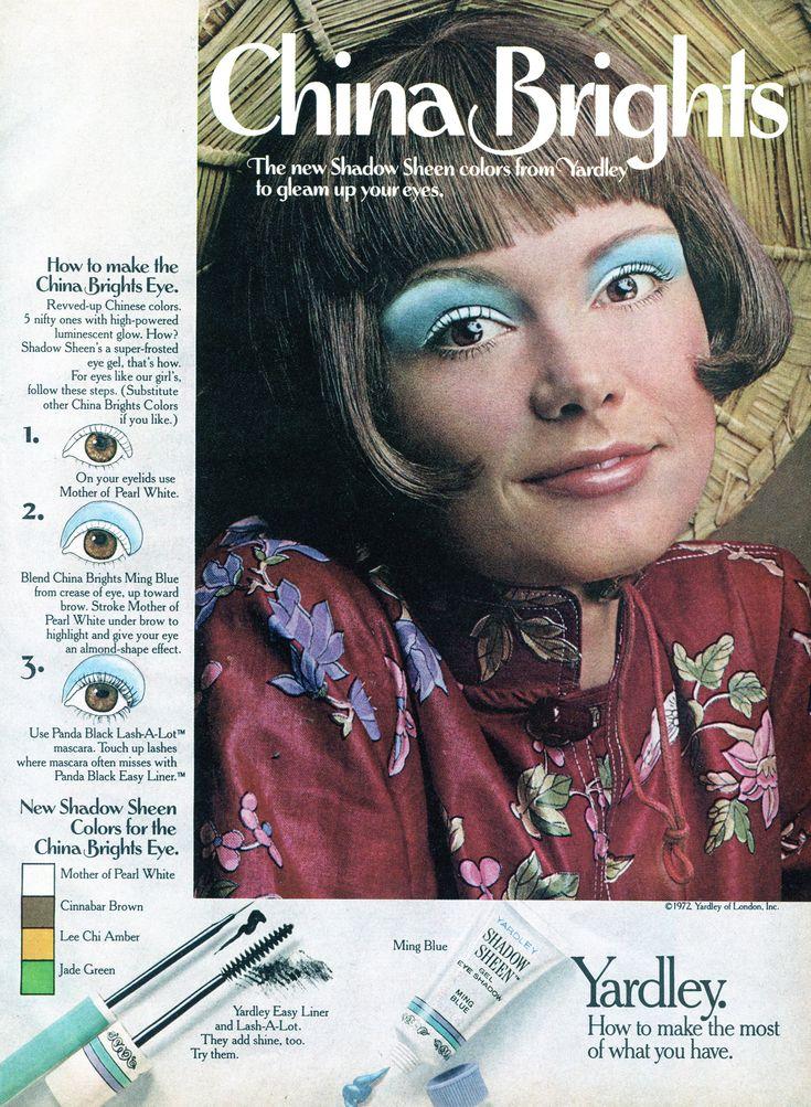 70s Makeup Ads Mugeek Vidalondon