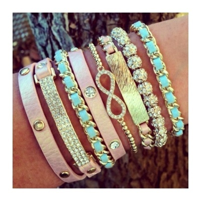 Pastel Jewelry with a Little Edge