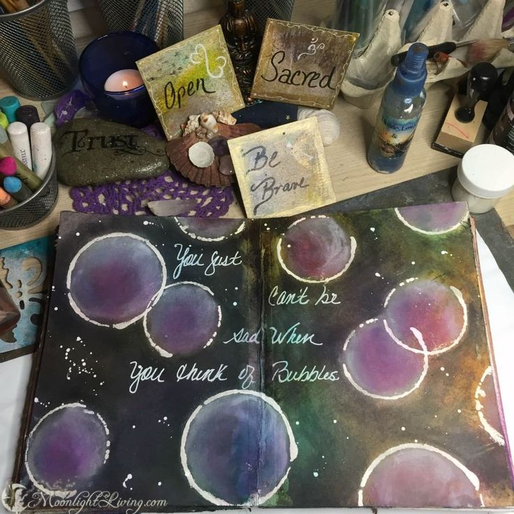 """""""You just can't be sad when you think of bubbles..."""" #CreativeMagick"""
