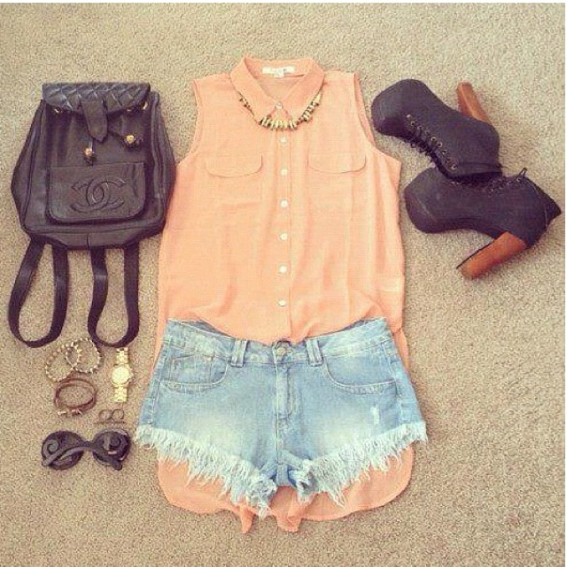 styling.: Shoes, Fashion Clothing, Dreams Closet, Style, Cute Outfits, Summer Outfits, Outfits Ideas, Denim Shorts, Wear