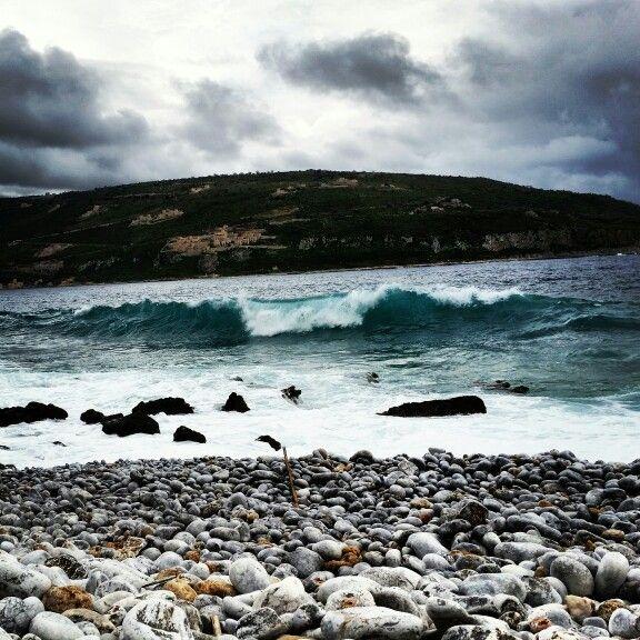 Waves in Mani #waves #sea