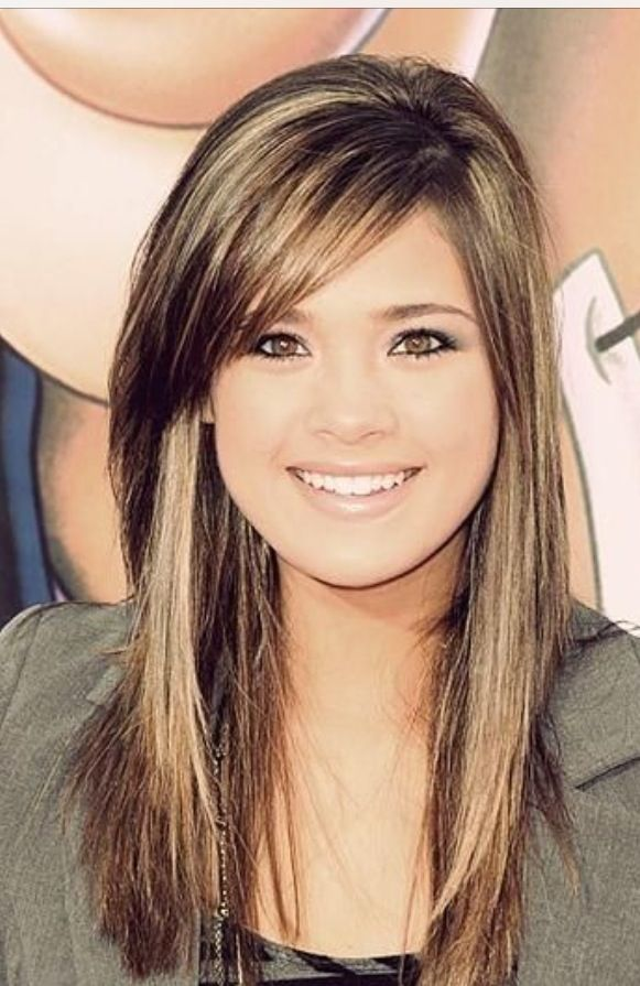 Asian Straight Layered Hair With Side Bangs 25+ best ideas ...