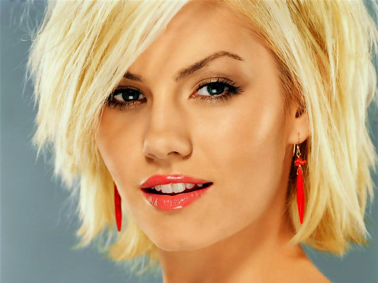 rocking the Elisha Cuthbert hair now! <3 this cut.