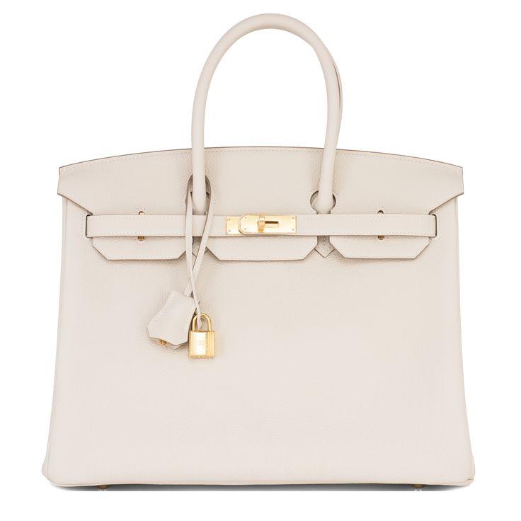 #Hermes #Birkin #Bag Craie Togo Gold Hardware