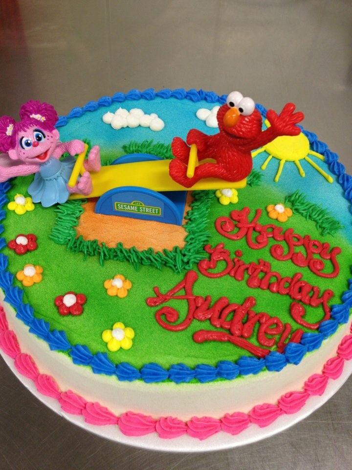 Elmo And Abby Cake Decoration : Top 25 ideas about PLAYGROUND CAKES on Pinterest ...