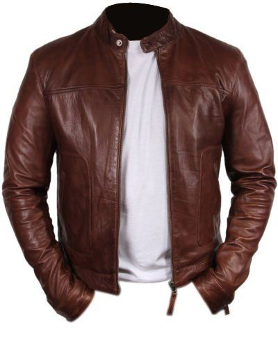 PRLWRS Bomber Rider Slim Fit Casual Stylish Chocolate Brown Real Leather Jacket, http://www.amazon.com/dp/B011MUVYDS/ref=cm_sw_r_pi_awdm_Z9q3vb0VHC7ST