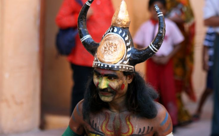 Indian costume for the Festival