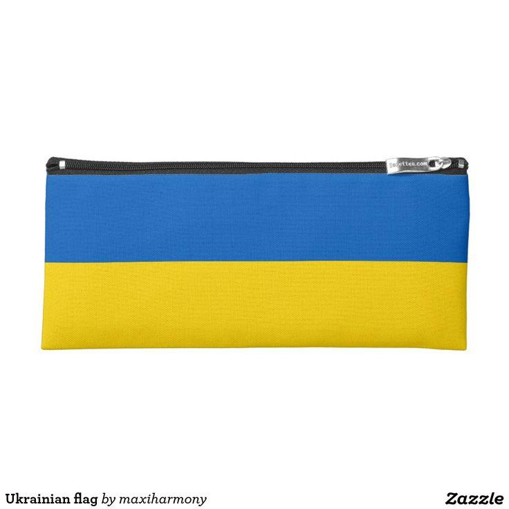 Ukrainian flag pencil case