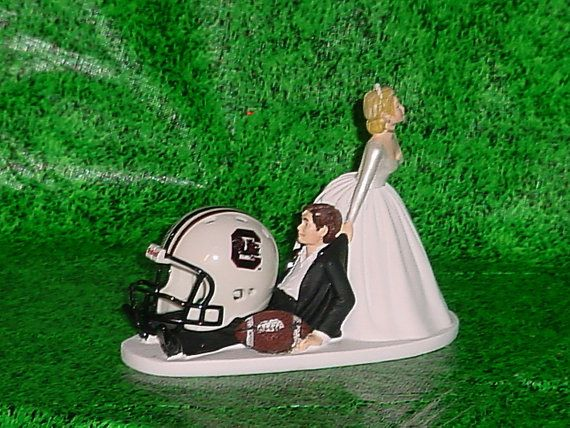South Carolina Gamecocks Football Grooms Wedding by splendorlocity