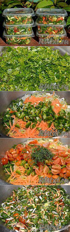 Как заморозить овощную смесь на зиму (рецепт с фото) | RUtxt.ru
