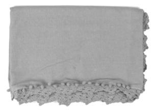 Elegant tafellaken uit de VT Wonen collectie. Sierlijk afgewerkt. Afmeting 250x150 cm.