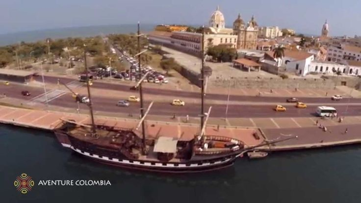 CARTAGENA DE INDIAS Caribe Colombia desde el Aire (Drone from above Carthagène vue du ciel) Aventure Colombia More information on our packages at : http://ift.tt/1iqhKT8