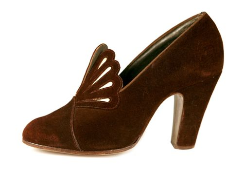 Shoes, 1930's, Shoe-Icons