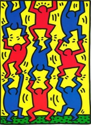 Official Keith Haring website for children with fun interactive internet site with activities & games to inspire a love of learning and art.