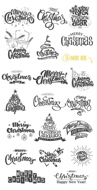 20 Weihnachts-Foto-Overlays von Rosline auf Creative Market Trendy Grafikdesign … – #auf #…