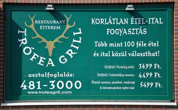 Trófea Grill Étterem Újbuda