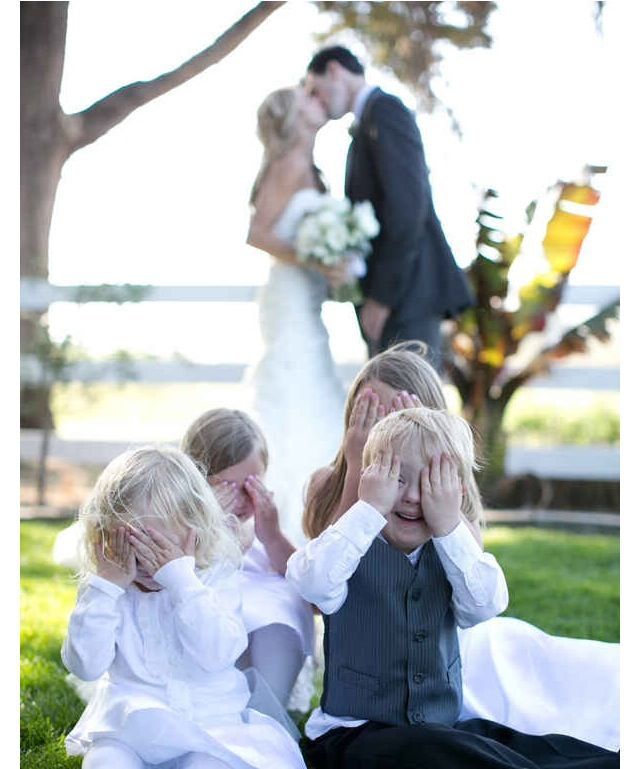 Different kind of photos I want included in my wedding shots