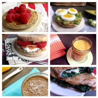 12 Speedy School Day Breakfasts to get your morning groove on in no time. Recipes on Mom's Kitchen Handbook