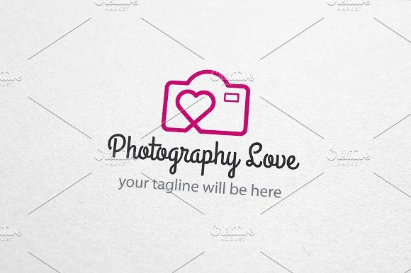 Photography Love Wedding Logo by Made by Arslan on @creativemarket