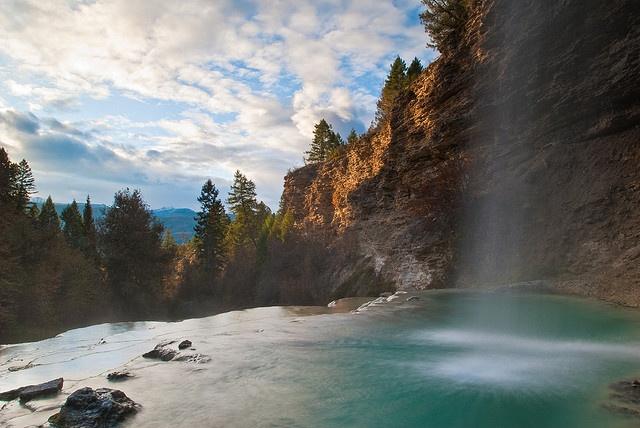 Falls – Fairmont Hot Springs – British Columbia, Canada – catherine w