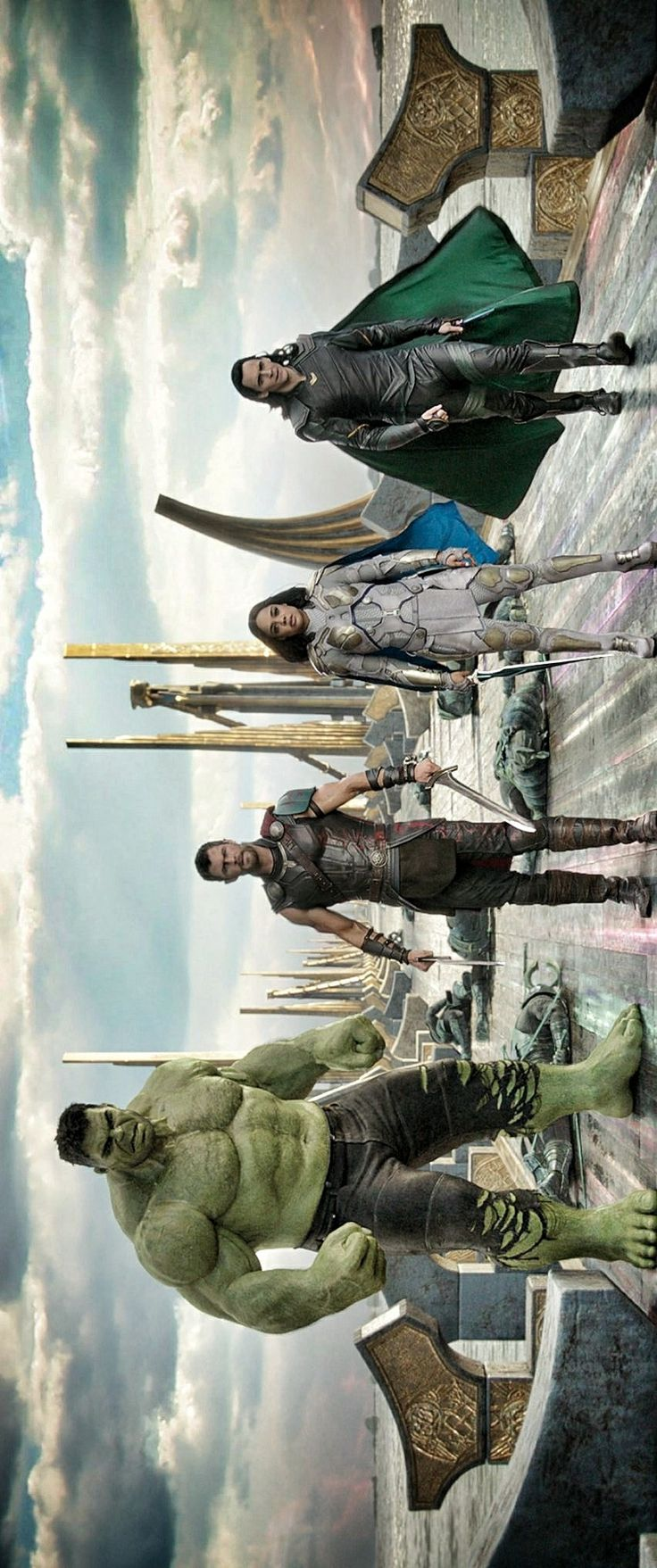Team Thor<<you mean Team Loki<<< Loki is the only one walking