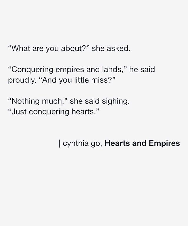 Hearts and Empires - quotes about love, dream, hope, heart