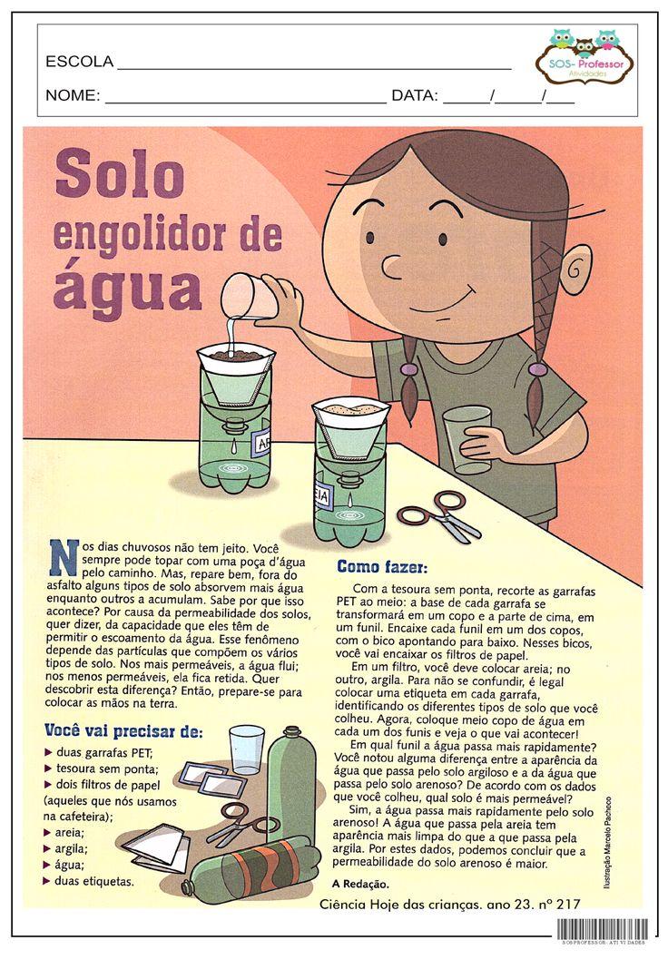 SOS PROFESSOR-ATIVIDADES: Solo
