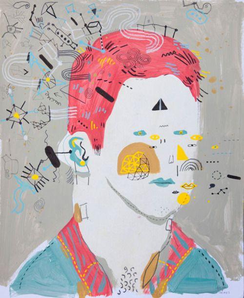 Projeto de arte colaborativa entre o ilustrador James e seu irmão Tom, que possui síndrome de down.