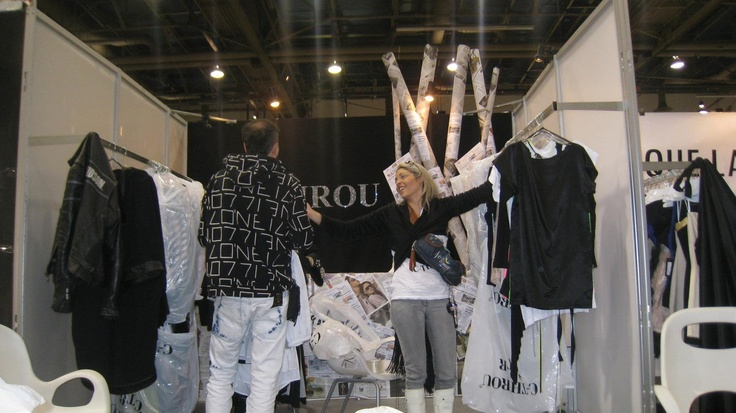 C-THROU: WWD MAGIC FASHION TRADE SHOW IN LAS VEGAS FEBRUARY 2011