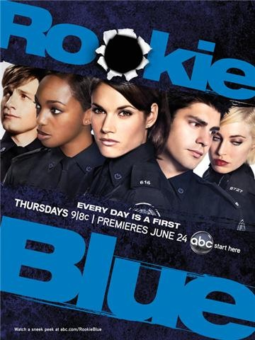 Rookie Blue.... a show about Canadian cops? SOLD!