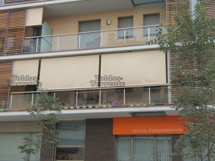 M s de 25 ideas incre bles sobre toldos para balcones en for Toldos para patios pequenos
