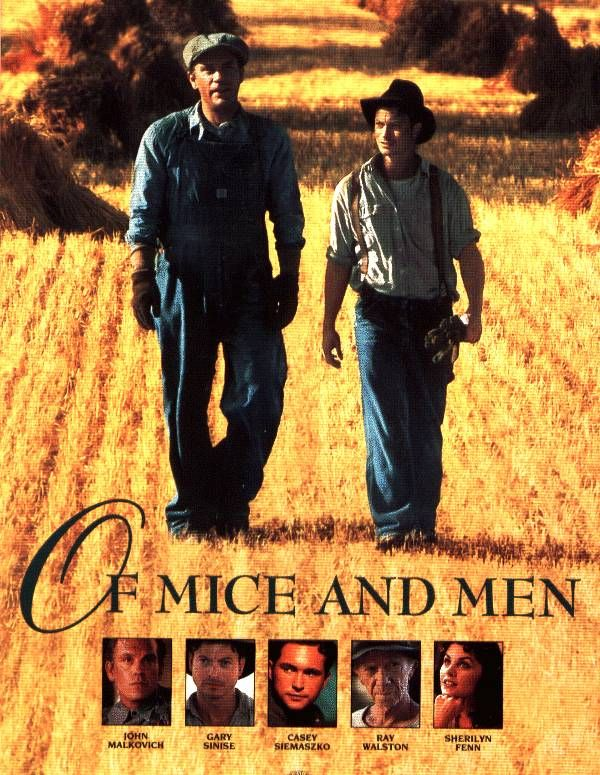a film critique of the movie of mice and men Get free homework help on steinbeck's of mice and men: book summary, chapter summary and analysis, quotes this approach is typical of plays and film, which helps explain why of mice and men was easily adapted for the broadway stage and as a hollywood movie.