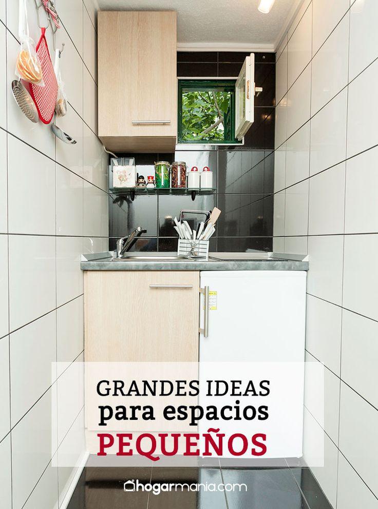 gran ideas para espacios pequeos dormitorios cocinas baos salones decoracin