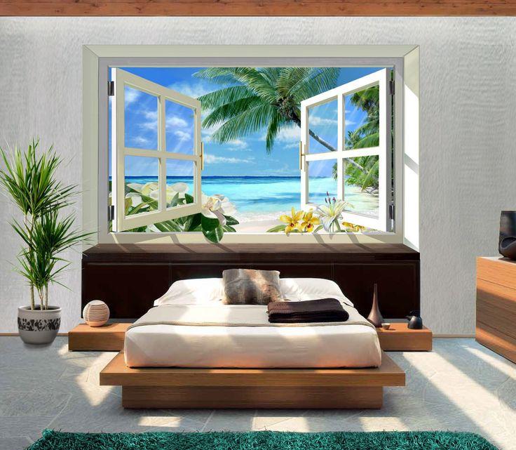 18 best Trompe lu0027oeil images on Pinterest Murals, Wall clings - glasbild für küche
