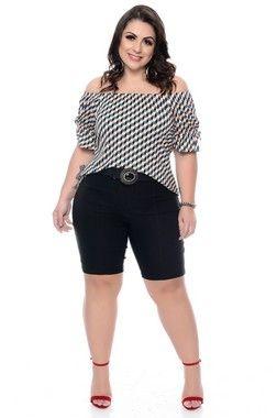 b14cb9f9a Blusa Plus Size Laiza| Daluz Plus Size - Loja Online - Daluz Plus Size | A Loja  Online Plus Size que mais cresce no Brasil!