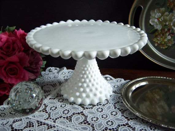 Rare Duncan and Miller Old Hobnail White by RetropolitanHolmes