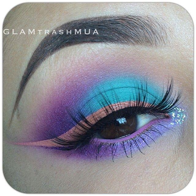 Cotton Candy Eye Makeup